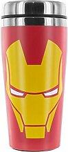 Iron Man Thermobecher - Avengers Iron Man Kaffeebecher Becher Marvel Kaffeetasse