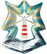 Iron Stop Windspiel Designer Windspiel Leuchtturm,