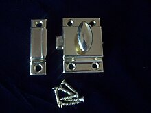 Ironmongery World® 55mm Messing Schrank Cabinet Tür Turn Catch Latch