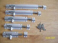 Ironmongery World® Aluminium Barrel Tür Schrank Schrauben Schlösser (10,2cm Zoll/100mm)