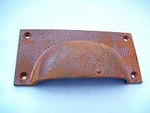 Ironmongery World® groß Aged Rustikal/Rost Tasse Griff Schublade Schrank Cabinet Küche Griff