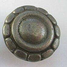 Ironmongery World® Gusseisen Küche Schrank Brust Schublade Schrank Tür Pull Griff Knauf (grau)