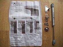 Ironmongery World Küche Schrank Schublade Top Öffnungsklappe Stay Pneum...