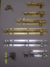 Ironmongery World® Messing Chrom Badezimmer WC-Schrank Tür Lock Bolt in 4Größen (5,1cm 50mm Messing Door Lock)