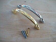 Ironmongery World Metall Face Fix Schrank Schublade Tür Schleife d Möbel...