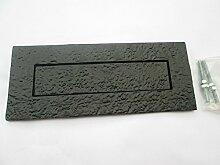 Ironmongery World®, schwarz antik Vintage Stil,