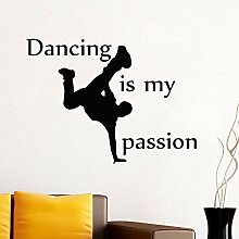 Is My Passion Wall Sticker Home Decor Removable