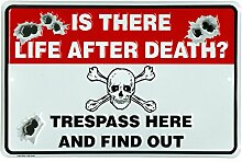 Is There Life After Death? Trespass Here And Find