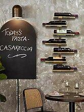 Isasar Weinflaschenregal zur Wandmontage, für
