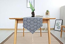 ischläufer Tischdekoration Baumwolle Leinen