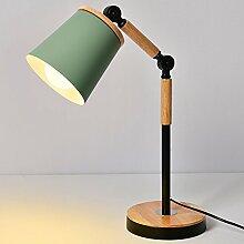 ischlampe LED schreibtischlampe holz leselampe