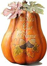 ishowstore Kürbissen Herbst Fallen Ernte Thanksgiving Halloween Land Dekoration B (bless our home)