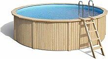 ISIDOR Holzpool Cooper Größe 460x120cm inkl.