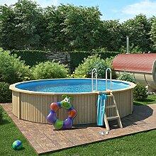 ISIDOR Holzpool, Swimmingpool Caspian mit