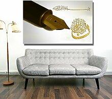 Islamische Leinwandbilder Dekoration Fotoleinwand