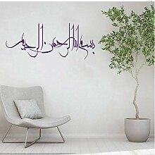 Islamisches Symbol Wand Tattoo Dekoration,