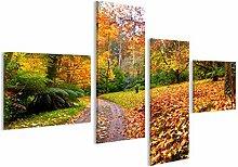 islandburner Bild auf Leinwand Herbst auf der