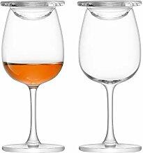 Islay LSA Whisky Nosing Gläser Glas, 110 ml, 2-er