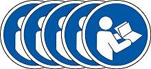 ISO-Sicherheits-Zeichen - Siehe