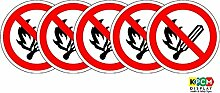ISO Sicherheitsaufkleber Sign - International Kein
