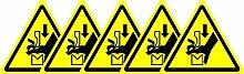 ISO Sicherheitsaufkleber Sign - Internationale