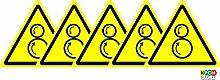 ISO Sicherheitsaufkleber Sign - Internationaler