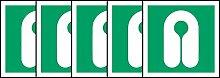 ISO Sicherheitskennzeichen Zeichen Internationale