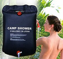 ISO TRADE Solardusche Campingdusche 20L Shower