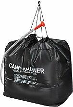 ISO TRADE Solardusche Campingdusche 40L Shower