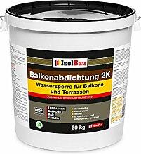 Isolbau 20kg Balkonabdichtung Dichtschlämme 2-K
