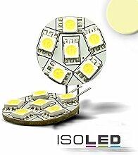 ISOLED 110029 LED-Leuchtmittel G4 6 SMD 1,2W