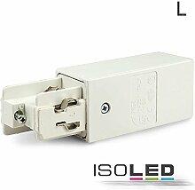 IsoLED 3-Phasen Seiten-Einspeisung LINKS, weiss