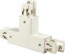 IsoLED 3-Phasen T-Verbinder LINKS, weiss
