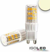 ISOLED G9 LED 51SMD, 5W, warmweiß, dimmbar