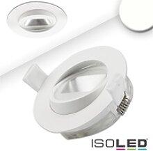 ISOLED LED Einbaustrahler asymmetrisch COB, weiß,