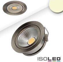 ISOLED LED Einbaustrahler COB mit Reflektor, IP40,