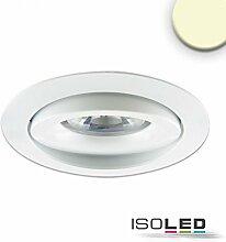 ISOLED LED Einbaustrahler, weiß, 15W, 45°,