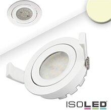 ISOLED SMD LED Einbaustrahler prismatisch, IP40,