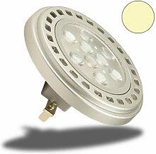 Isolicht AR111 G53 LED Spot, 11 Watt, 30°,
