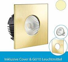 Isolicht Einbaustrahler für Feuchtraum &