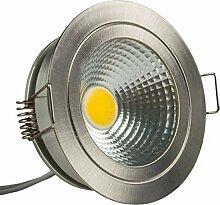 Isolicht LED Einbaustrahler COB mit Reflektor, 5W,