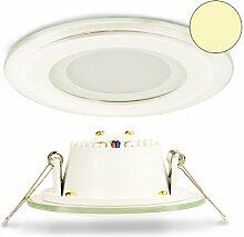 Isolicht LED Glas Downlight 6W, 120°, inkl.