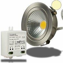 Isolicht LED Möbel-Einbaustrahler COB mit