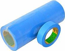 Isolierband 10 Rollen Länge:10m Breite:15mm blau Isoband Elektroinstallation erfüllt VDE, ÖVE und SEV