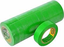 Isolierband 10 Rollen Länge:10m Breite:15mm grün