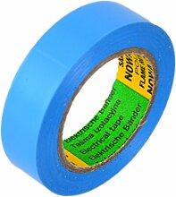 Isolierband 5 Rollen Länge:10m Breite:15mm blau Isoband Elektroinstallation erfüllt VDE, ÖVE und SEV