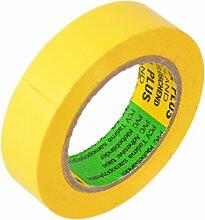 Isolierband 5 Rollen Länge:10m Breite:15mm gelb