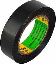 Isolierband Länge:10m Breite:15mm schwarz Isoband