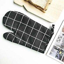 Isolierhandschuhe Anti-Hot Mikrowelle Handschuhe