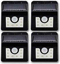 ISOTRONIC Solarleuchten Garten solar,